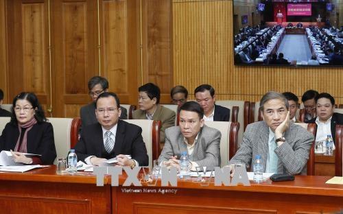 Le comite du PCV pour le bloc des organes centraux en congres hinh anh 2