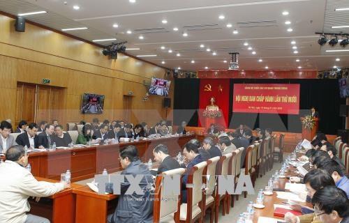 Le comite du PCV pour le bloc des organes centraux en congres hinh anh 1