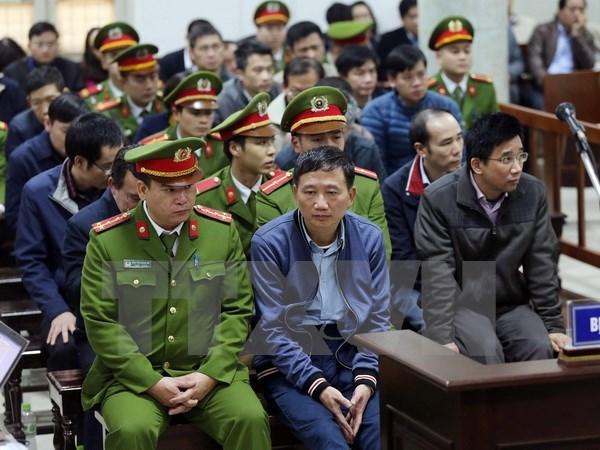 Le parquet replique, l'accuse Dinh La Thang s'excuse hinh anh 1