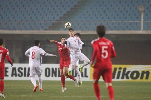Le Vietnam arrache le nul a la Syrie et file en quarts de finale hinh anh 1