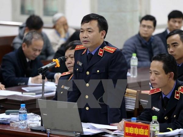 Le parquet replique, l'accuse Dinh La Thang s'excuse hinh anh 2