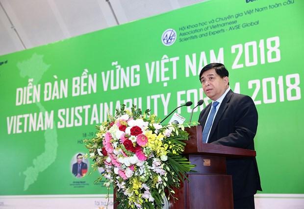 Croissance, durabilite et inclusion, piliers de l'economie hinh anh 1