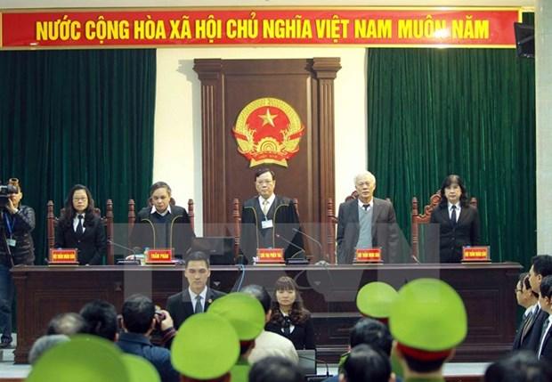 Le proces de l'affaire a PetroVietnam et a PVC assure la primaute du droit hinh anh 3