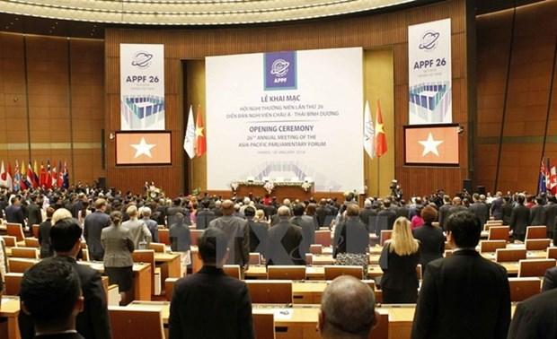 FPAP-26 : les delegations livrent leurs premieres impressions hinh anh 1
