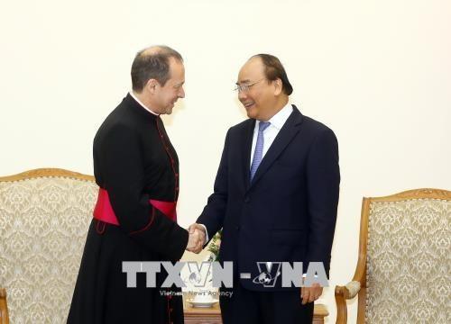 Le sous-secretaire du Vatican pour les relations avec les Etats se rend au Vietnam hinh anh 1
