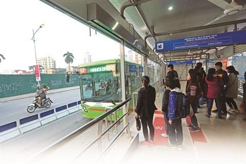 Hanoi cherche a rendre ses transports publics efficaces et durables hinh anh 1