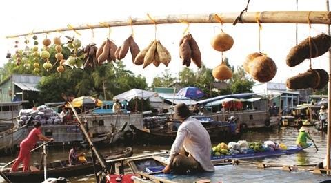 Le marche flottant de Nga Nam a Soc Trang hinh anh 2