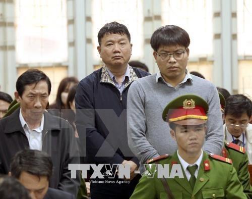 Trinh Xuan Thanh condamne a la perpetuite, Dinh La Thang a 13 ans de prison hinh anh 1