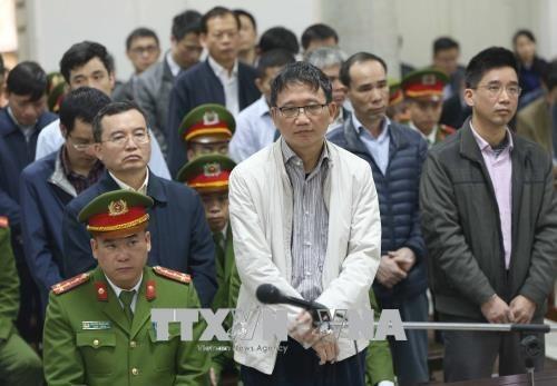 Trinh Xuan Thanh condamne a la perpetuite, Dinh La Thang a 13 ans de prison hinh anh 2