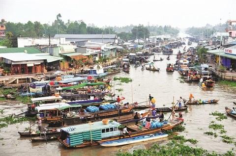 Le marche flottant de Nga Nam a Soc Trang hinh anh 1