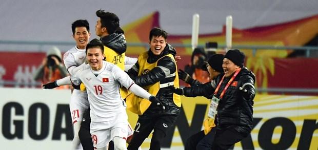 Championnat d'Asie U23: le Vietnam se qualifie pour la finale au bout du suspense hinh anh 1