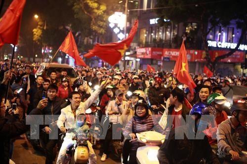 Championnat d'Asie U23: le Vietnam se qualifie pour la finale au bout du suspense hinh anh 4