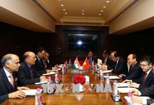 Le Premier ministre rencontre des dirigeants de groupes indiens hinh anh 1
