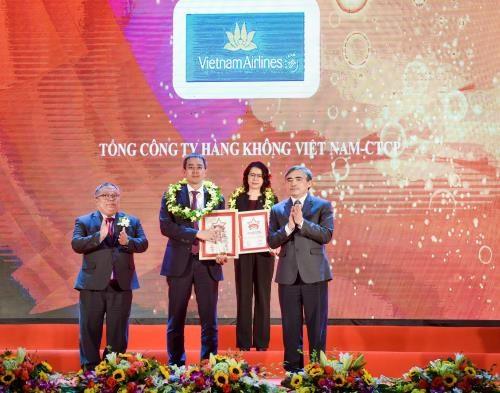 Vietnam Airlines au top dix des meilleures entreprises du Vietnam hinh anh 1
