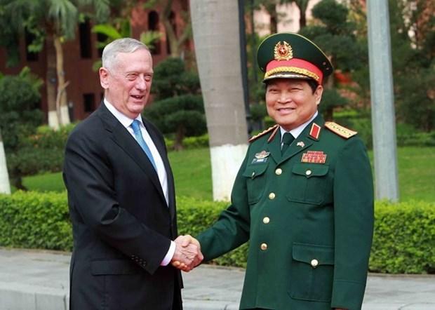 Renforcement de la cooperation Vietnam-Etats-Unis dans la defense hinh anh 1
