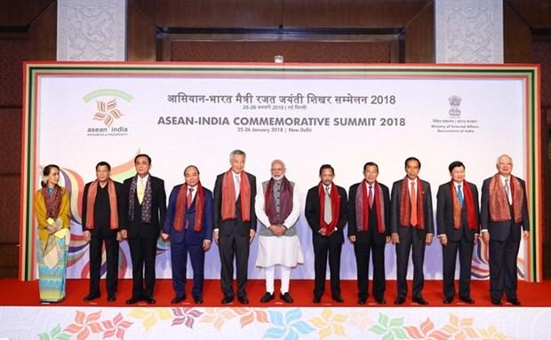 Declaration de Delhi du Sommet commemoratif ASEAN-Inde hinh anh 1
