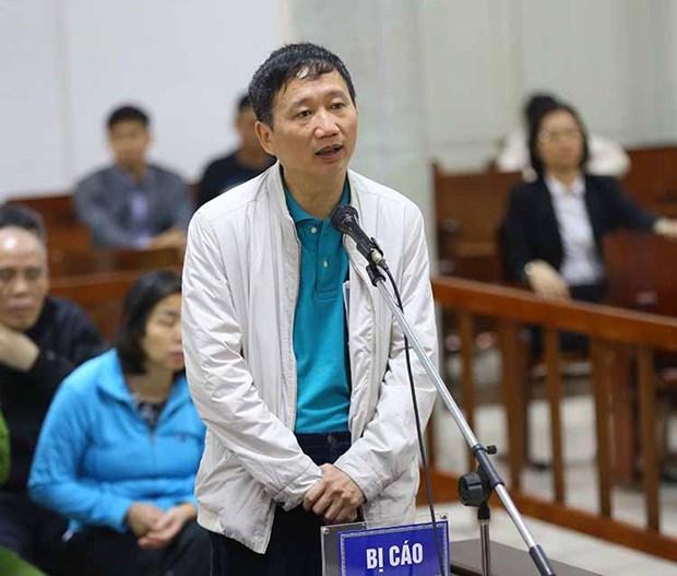 La perpetuite requise contre Trinh Xuan Thanh pour detournement de biens hinh anh 1