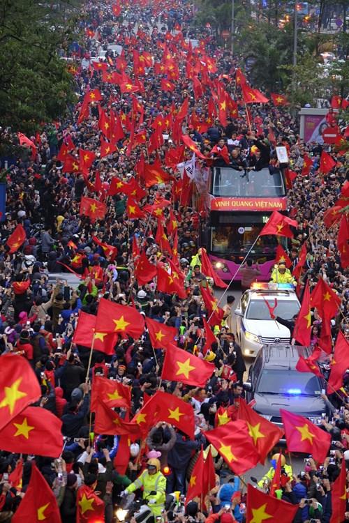 Championnat d'Asie U23 : Le Vietnam acclame ses heros hinh anh 4