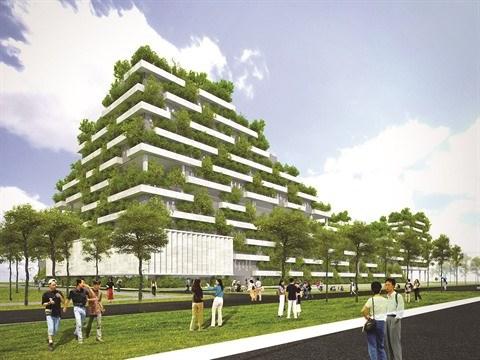"""Des ouvrages """"verts"""" pour un developpement durable hinh anh 1"""