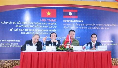 Des pistes pour promouvoir le commerce entre Ho Chi Minh-Ville et le Laos hinh anh 1