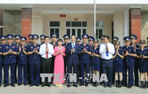 Le president Tran Dai Quang travaille a Ba Ria-Vung Tau et Binh Duong hinh anh 2