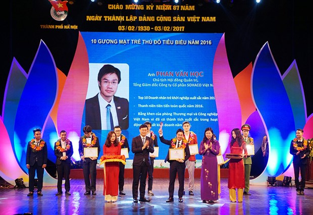 Distinction de jeunes de la capitale exemplaires dans la creation de start-up hinh anh 1