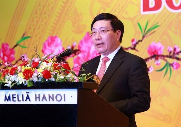 La presse a contribue au succes diplomatique de 2017 hinh anh 1