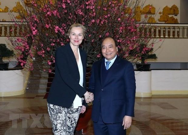 Le PM appelle a une cooperation renforcee et multiforme avec les Pays-Bas hinh anh 1