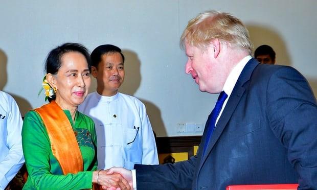 Le Royaume-Uni et le Myanmar discutent de la crise des Rohingyas hinh anh 1