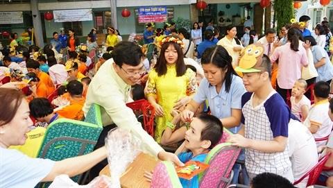 Un printemps de l'amour pour les enfants handicapes et orphelins hinh anh 1