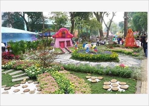 Festival des fleurs de Tao Dan, retour au printemps au Sud hinh anh 2