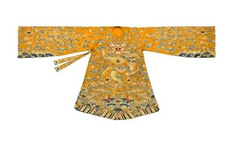 Trois robes royales de la dynastie des Nguyen seront mises aux encheres a Paris hinh anh 1