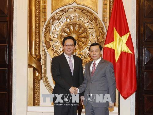 L'ambassadeur de Chine a l'honneur hinh anh 1