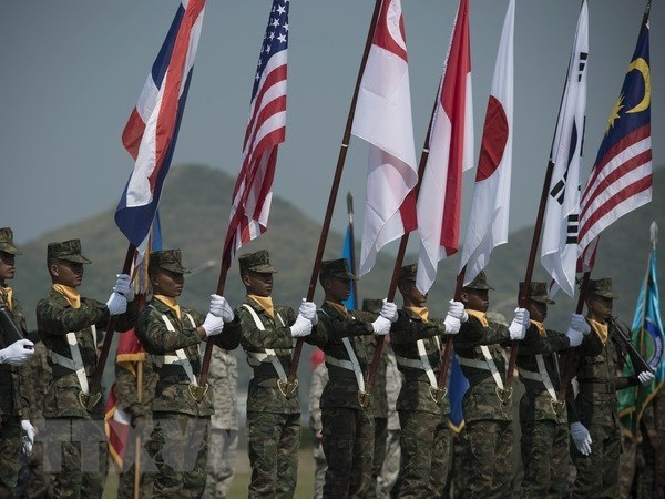 La Thailande et les USA lancent une manœuvre multinationale hinh anh 1