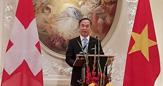 Le Vietnam elu president du groupe des ambassadeurs francophones en Suisse hinh anh 1