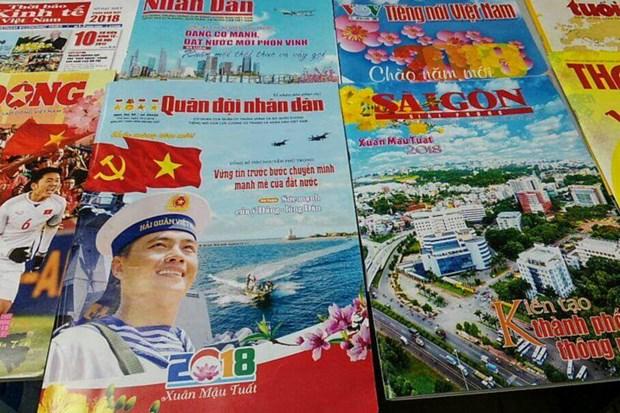 Vœux et evenements marquants font les titres de la presse printaniere hinh anh 1