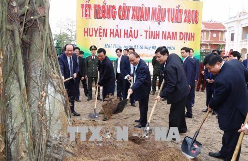 Le chef du gouvernement exhorte a faire de Hai Hau un district neo-rural modele hinh anh 2