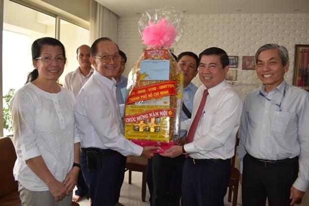 Ho Chi Minh-Ville: 1.400 milliards de dongs pour les personnes dans le besoin hinh anh 1