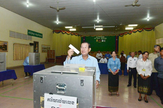 Cambodge : le PPC remporte une victoire ecrasante aux senatoriales hinh anh 1