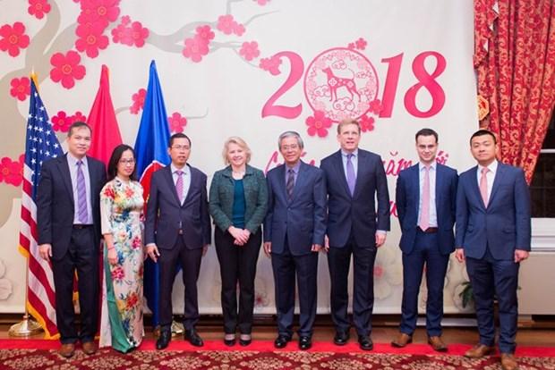 Vietnam et Etats-Unis promeuvent les relations bilaterales hinh anh 1