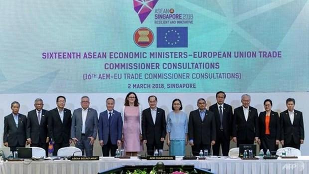 L'ALE entre l'ASEAN et l'UE devrait etre approuve d'ici la fin de l'annee hinh anh 1