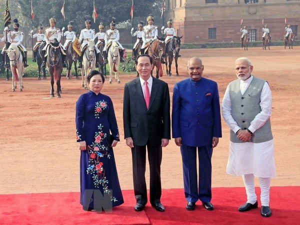 Le Vietnam et l'Inde publient une Declaration commune hinh anh 1