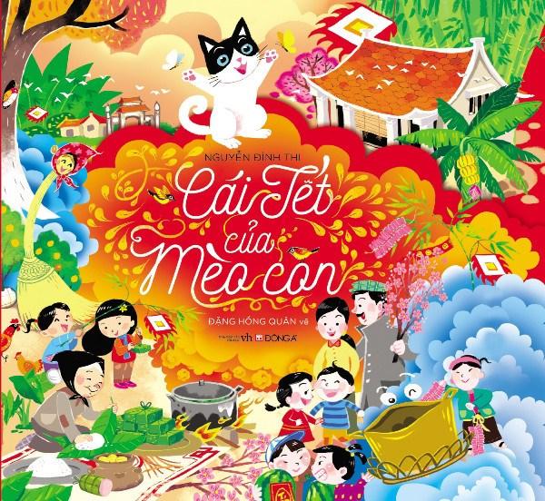 Le Tet du chaton, un livre pour vos enfants au printemps hinh anh 1
