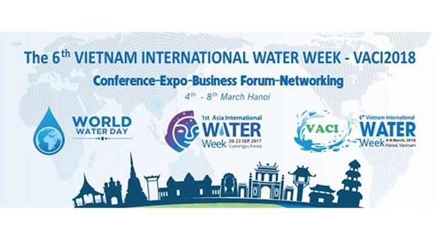 Hanoi accueillera la Semaine internationale de l'eau du Vietnam hinh anh 1