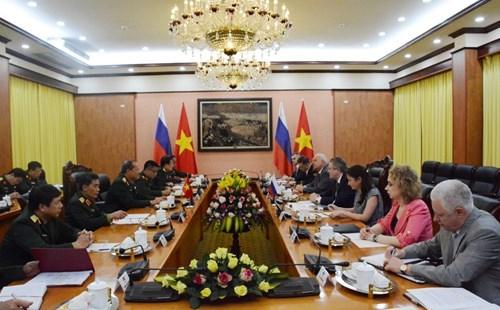 Vietnam et Russie renforcent la cooperation dans les techniques militaires hinh anh 1