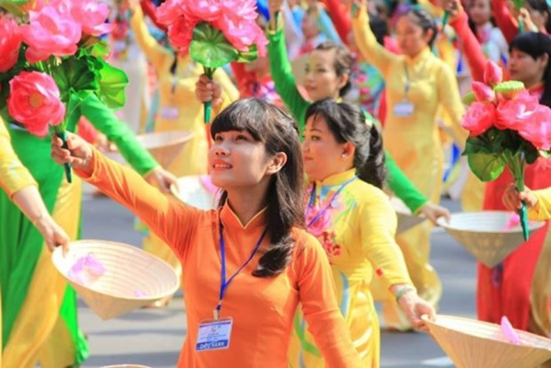 La journee internationale de la femme celebree en grande pompe hinh anh 1