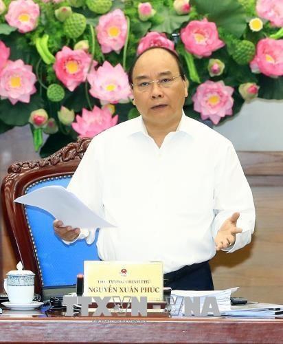 Le Premier ministre ordonne une bonne preparation pour les sommets du GMS et du CLV hinh anh 1