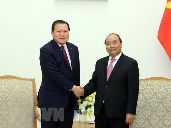 Le PM Nguyen Xuan Phuc exhorte Lotte a elargir ses affaires au Vietnam hinh anh 1
