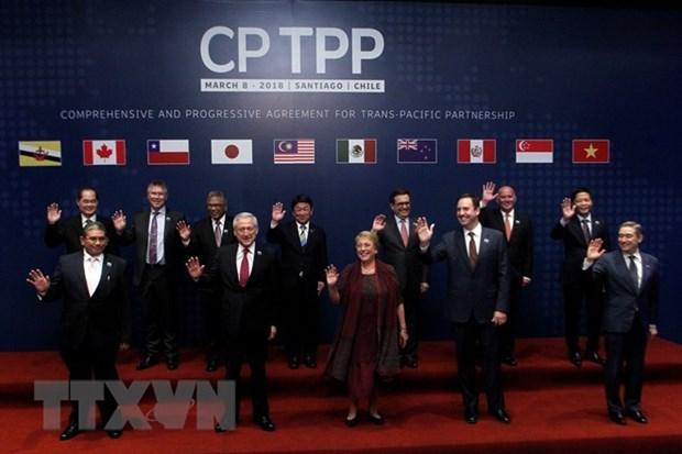 Signature officielle de l'accord trans-Pacifique CPTPP au Chili hinh anh 1