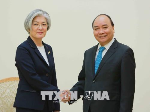 Renforcement des relations avec la Republique de Coree hinh anh 1